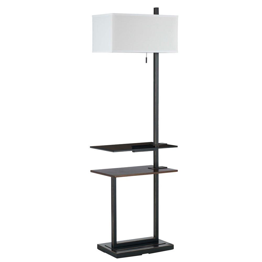 Filament Design Cooper 59 in. Dark Bronze Floor Lamp