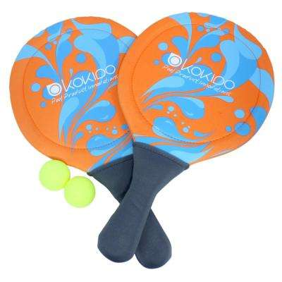Neoprene Swimming Pool Paddle Balls