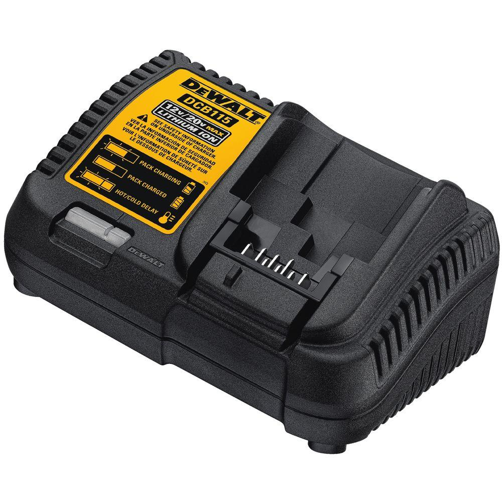 Dewalt 12 Volt To 20 Lithium Ion Battery Charger Dcb115 The 12v Indicator Level