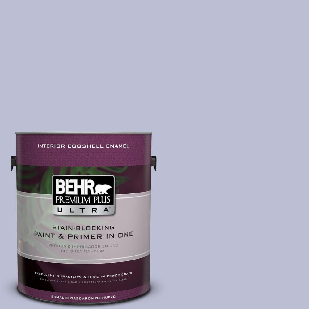 BEHR Premium Plus Ultra 1-gal. #PPU15-15 Sweet Juliet Eggshell Enamel Interior Paint