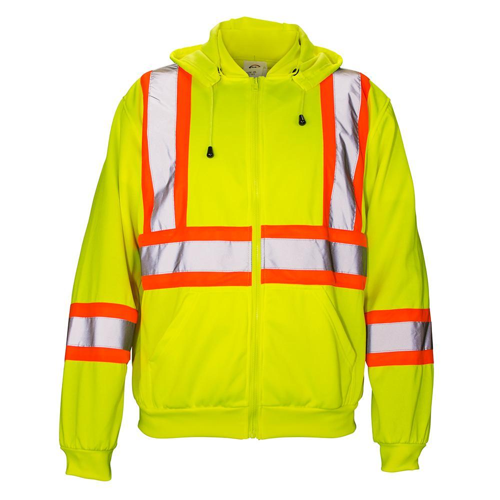 SAS Safety 3X-Large Class 2 Hooded Sweatshirt