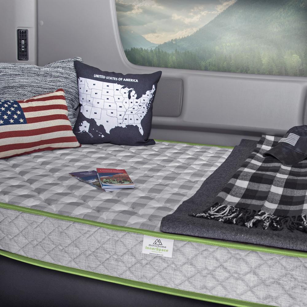 RV Camper 3 Quarter-Size High Density Foam Mattress