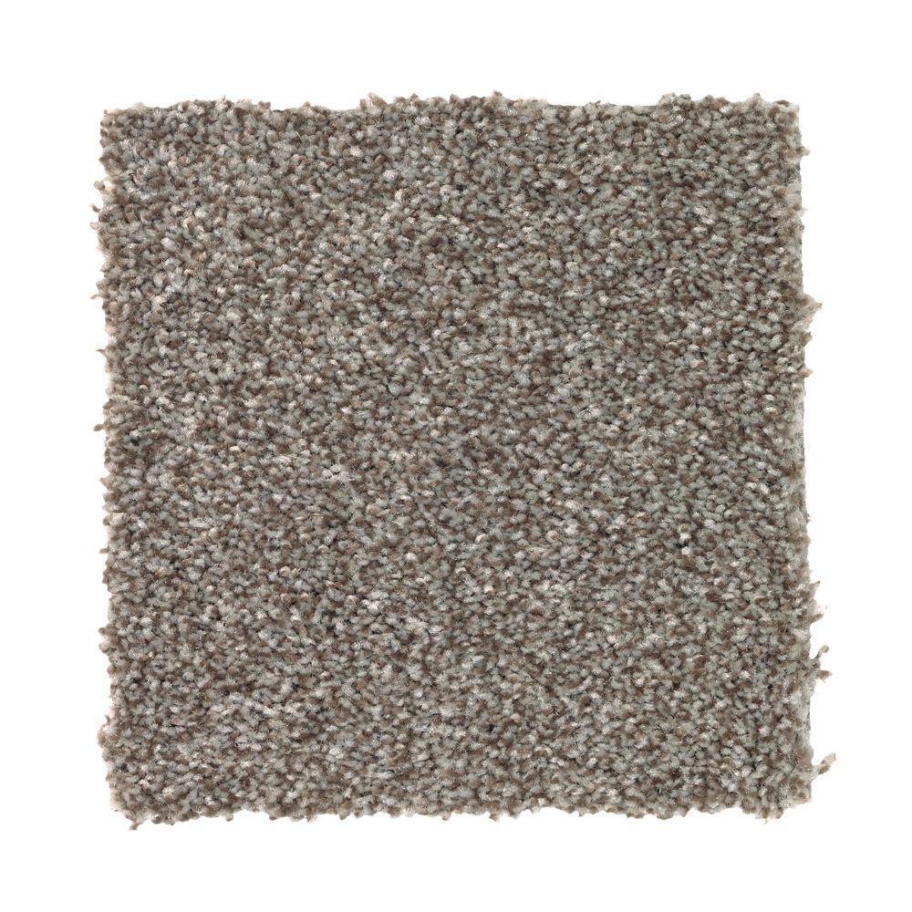 Carpet Sample - Superiority II - Color Wooden Oar Texture 8 in. x 8 in.