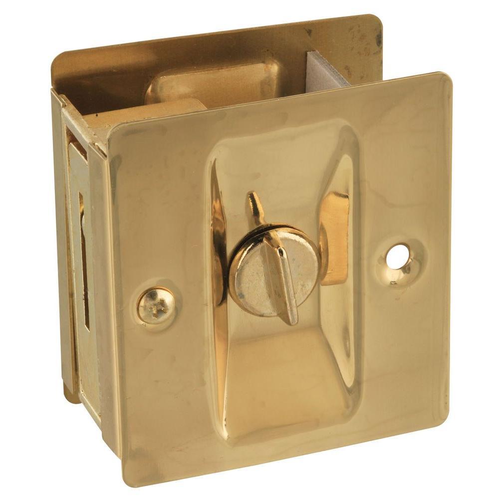 Solid Brass Pocket Door Latch