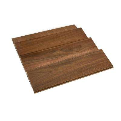 1.5 in. H x 16 in. W x 19.75 in. D Large Wood Spice Drawer Insert