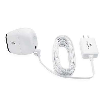 Weatherproof Outdoor Quick Charge 3.0 Power Adapter for Arlo PRO and Arlo GO, White