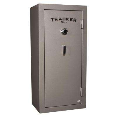 22-Gun Fire-Resistant Combination Gun Safe, Gray