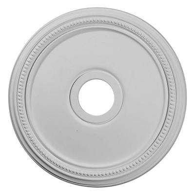 18 in. x 3-5/8 in. I.D. x 1-1/8 in. Diane Urethane Ceiling Medallion (Fits Canopies upto 5-3/8 in.)