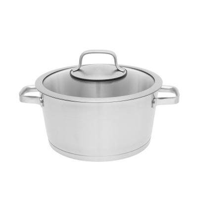 Essentials 8.8 Qt. Stainless Steel Covered Stockpot