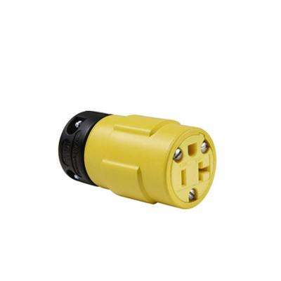 20 Amp 125-Volt Rubber Dust Tight Connector