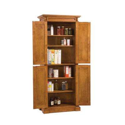Distressed Oak Pantry