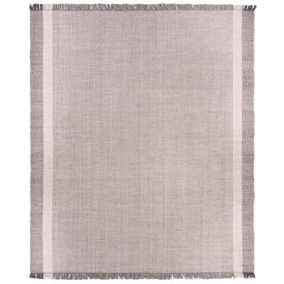 Montauk Ivory/Gray 8 ft. x 10 ft. Area Rug