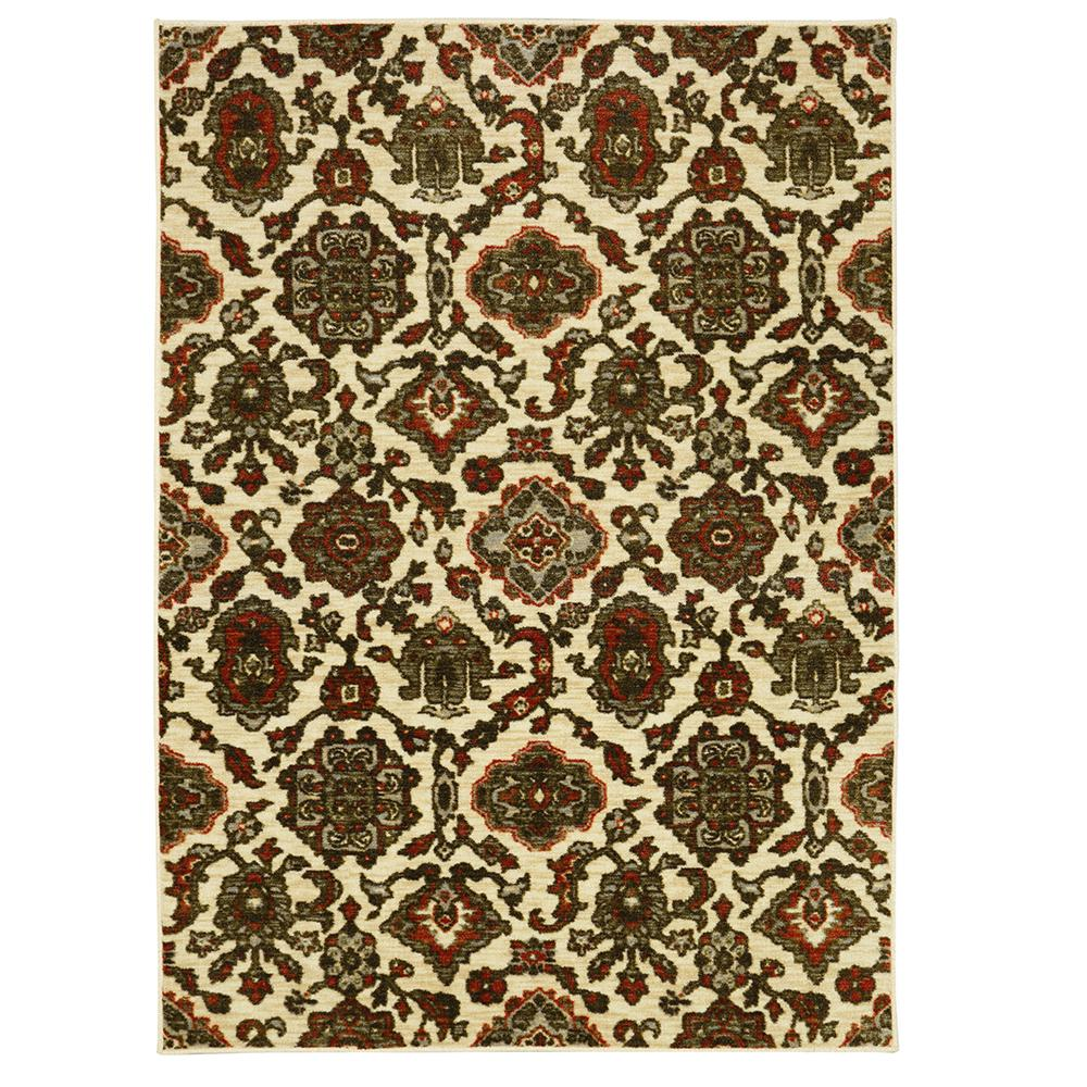 Valorous Traditional Multi 5 ft. x 7 ft. Area Rug