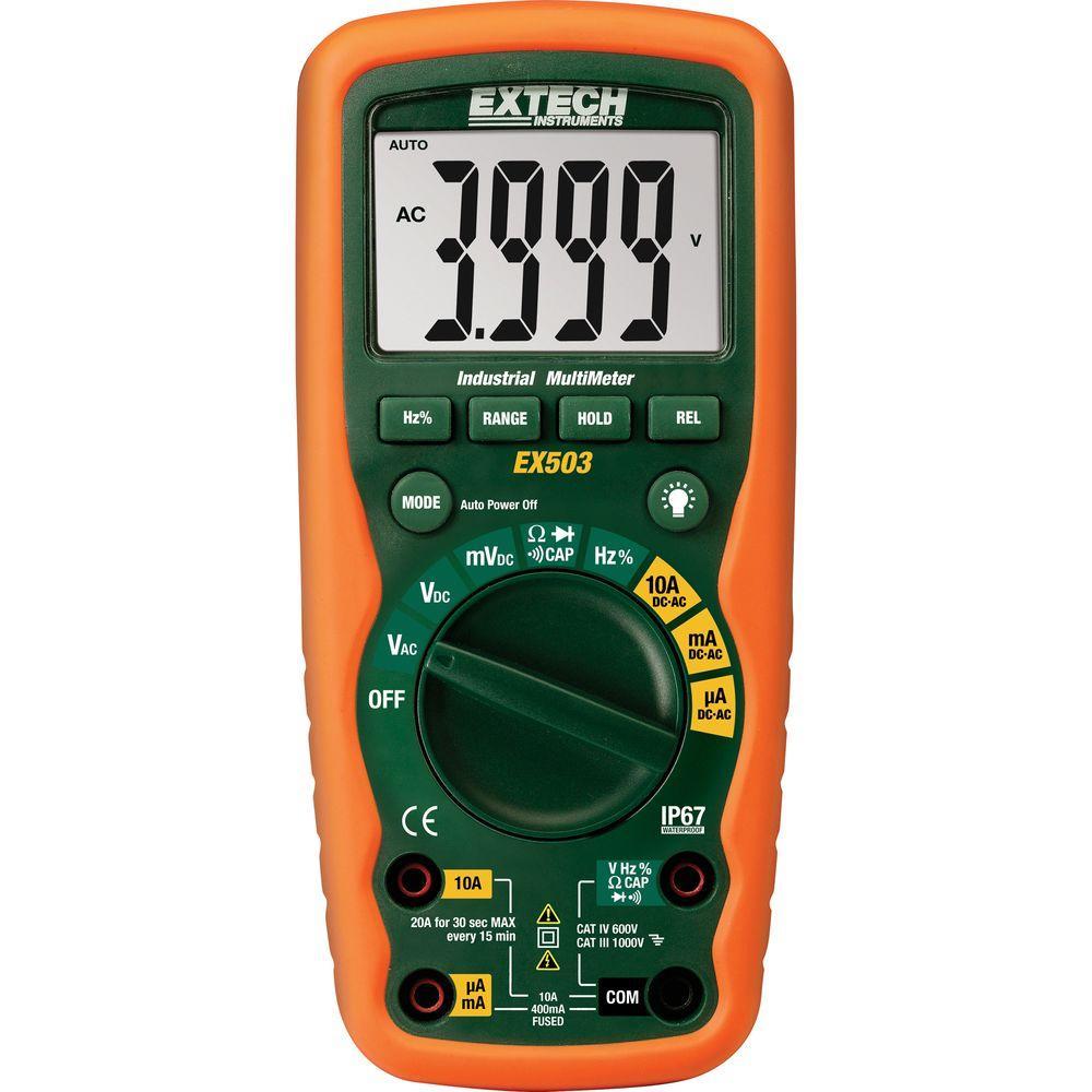 Heavy Duty Waterproof Multimeter