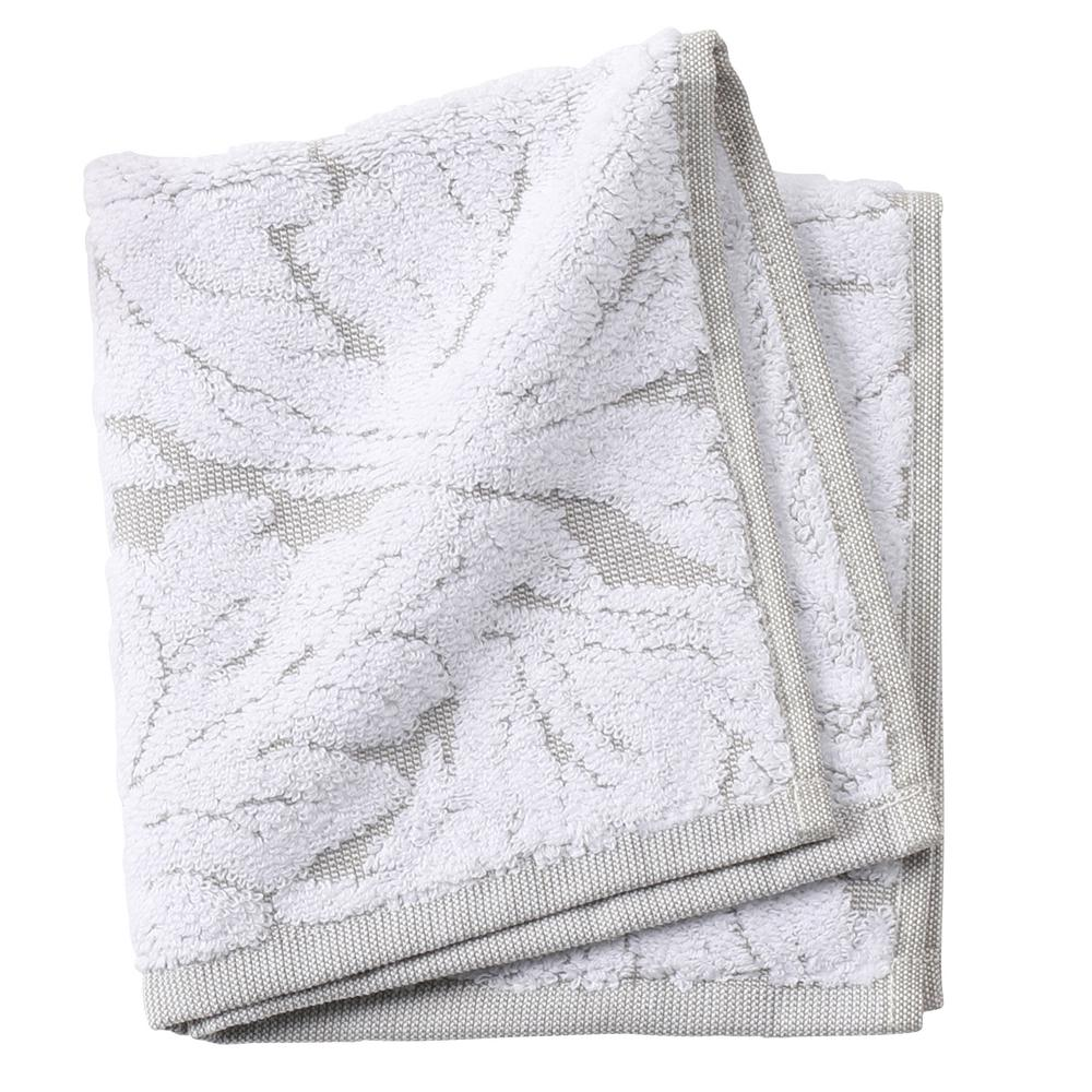 Faro 1-Piece Face Towel in Taupe