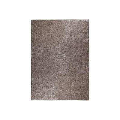 Eyelash Beige 5 ft. x 7 ft. Shag Area Rug
