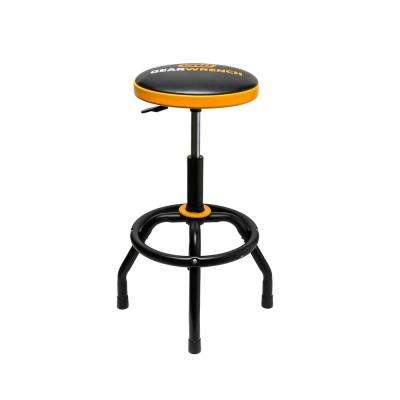 26 in. to 31 in. Adjustable Height Swivel Shop Stool