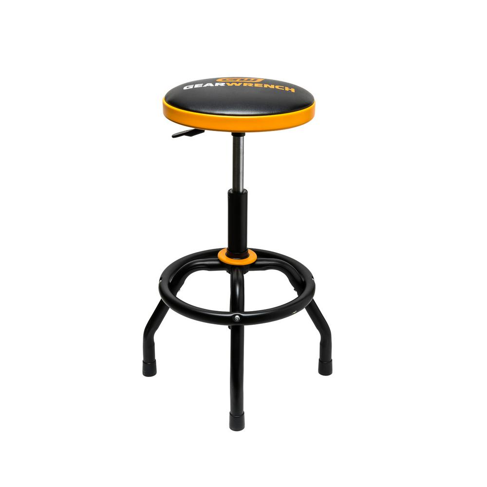 GearWrench GearWrench 26 in. to 31 in. Adjustable Height Swivel Shop Stool