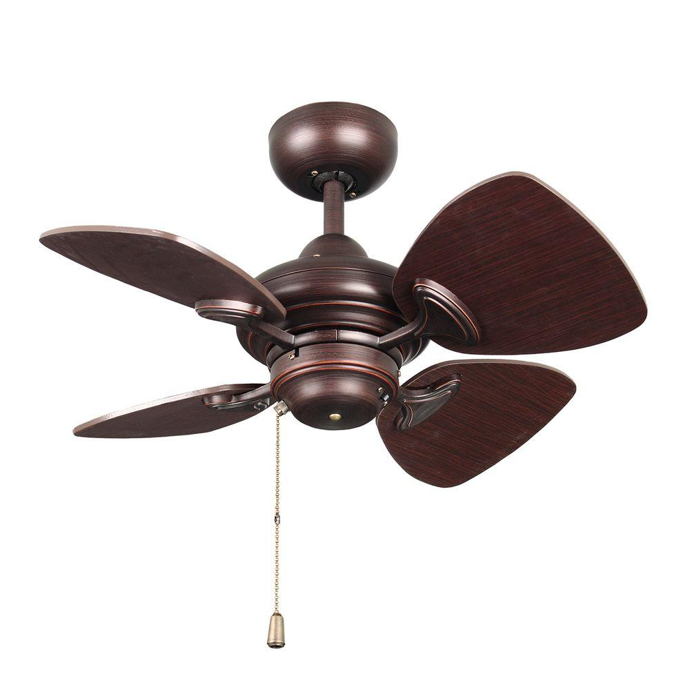 Designers Choice Collection Aires 24 In Copper Bronze Ceiling Fan
