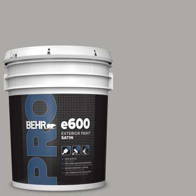 5 gal. #PPU18-14 Cathedral Gray Satin Enamel Exterior Paint