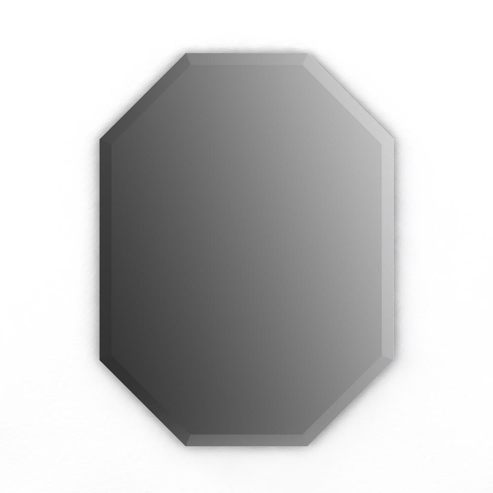22 in. x 30 in. (M2) Octagonal Frameless TRUClarity Deluxe Glass