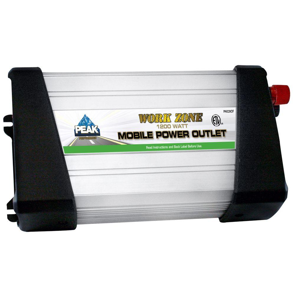 1200 watt mobile power outlet with kit pkc1cf the home depot for Outlet mobile