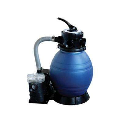 12 in. Top-Mount Above-Ground Pool and Spa Sand Filter System with 0.35 HP Pump