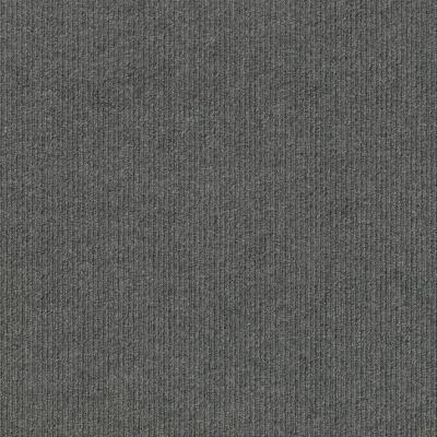 Peel and Stick First Impressions High Low Sky Grey 24 in. x 24 in. Commercial Carpet Tile (15-tile / case)