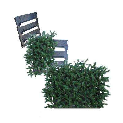 Additional Side Panel for Model 3656A Faux Evergreen Utility Equipment Cover-Rectangular Shape