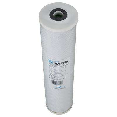 Home Master Radial Flow GAC 20 Micron Replacement Water Filter