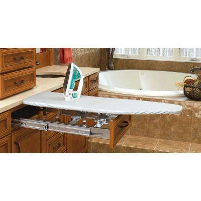 4 in. H x 21 in. W x 19.86 in. D Vanity Cabinet Pull-Out Ironing Board