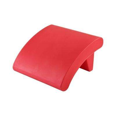 Twist Production Red Outdoor Patio Ottoman