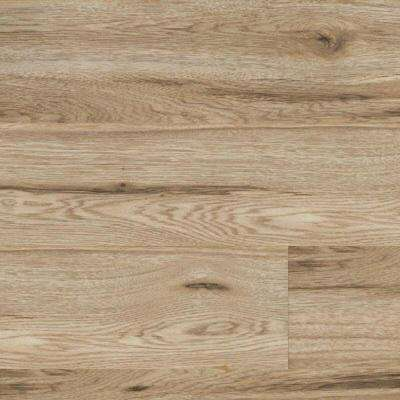 Take Home Sample - Signal Creek Watkins Hickory Laminate Flooring - 7-2/5 in. x 10 in.