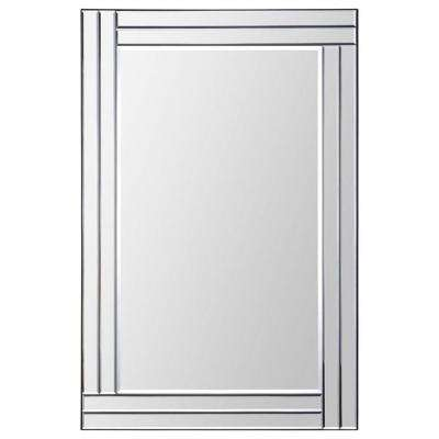 Luna 35 in. x 24 in. Transitional Framed Mirror