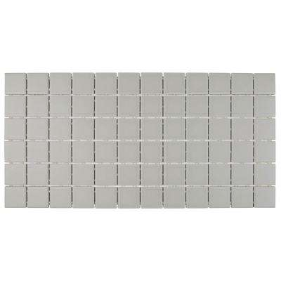 Restore Matte Natural Gray 12 in. x 24 in. x 6.35 mm Glazed Ceramic Mosaic Tile (2 sq. ft./piece)