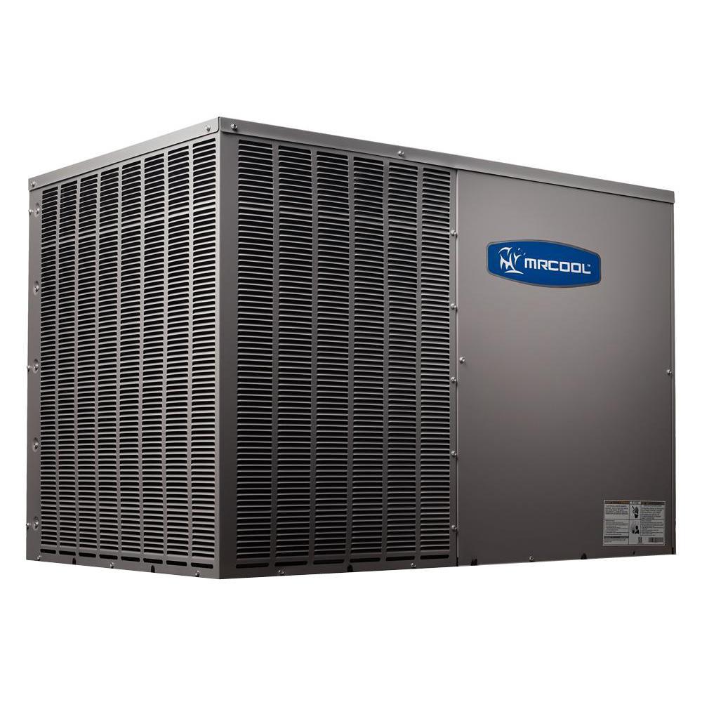 DIY 3.5 Ton 42,000 BTU 14.5 SEER R-410A Horizontal Package Air Conditioner and Heat Pump