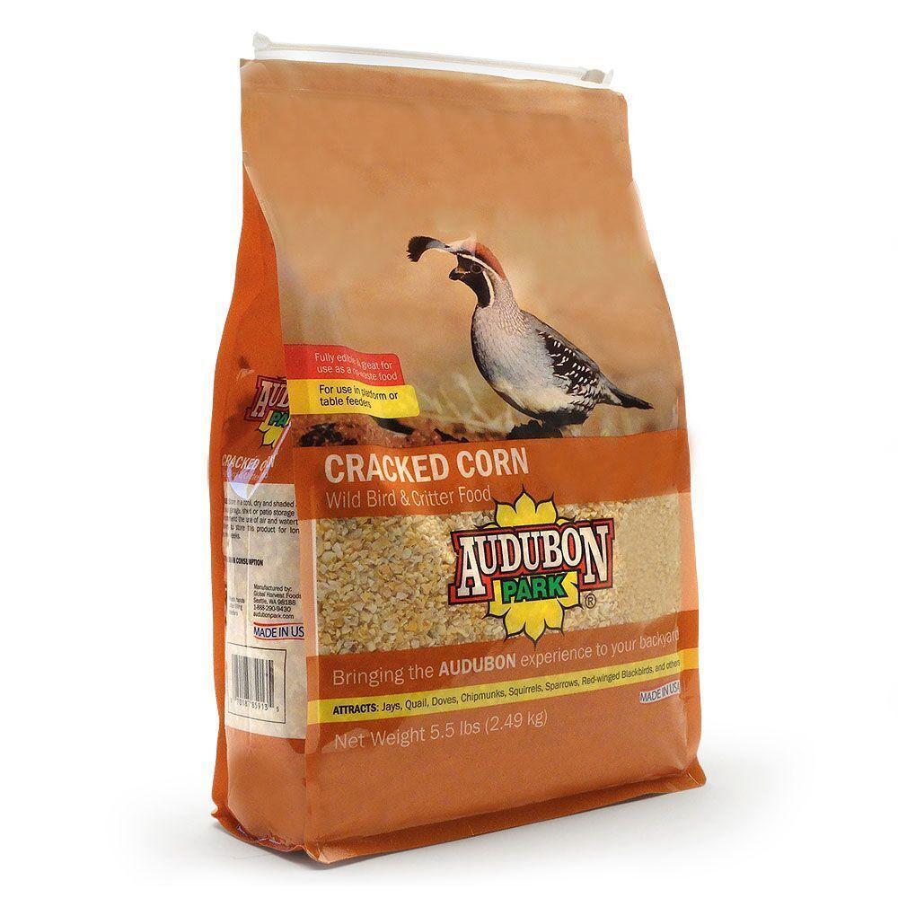 Audubon Park 5 5 Lb Cracked Corn 12181 The Home Depot