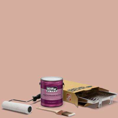 1 gal. #S180-3 Flowerpot Ultra Eggshell Enamel Interior Paint and 5-Piece Wooster Set All-in-One Project Kit