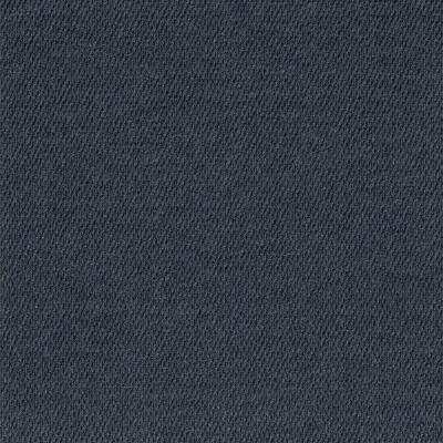 First Impressions Ocean Blue Hobnail Texture 24 in. x 24 in. Carpet Tile (15 Tiles/Case)