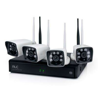 Patrol 4-Camera/4-Channel 1080p HD Wi-Fi Security System with 1TB DVR