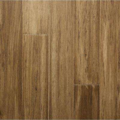 Take Home Sample - Camelback Engineered Rigid Core Bamboo Flooring - 5.12 in. Wide x 6 in. Length