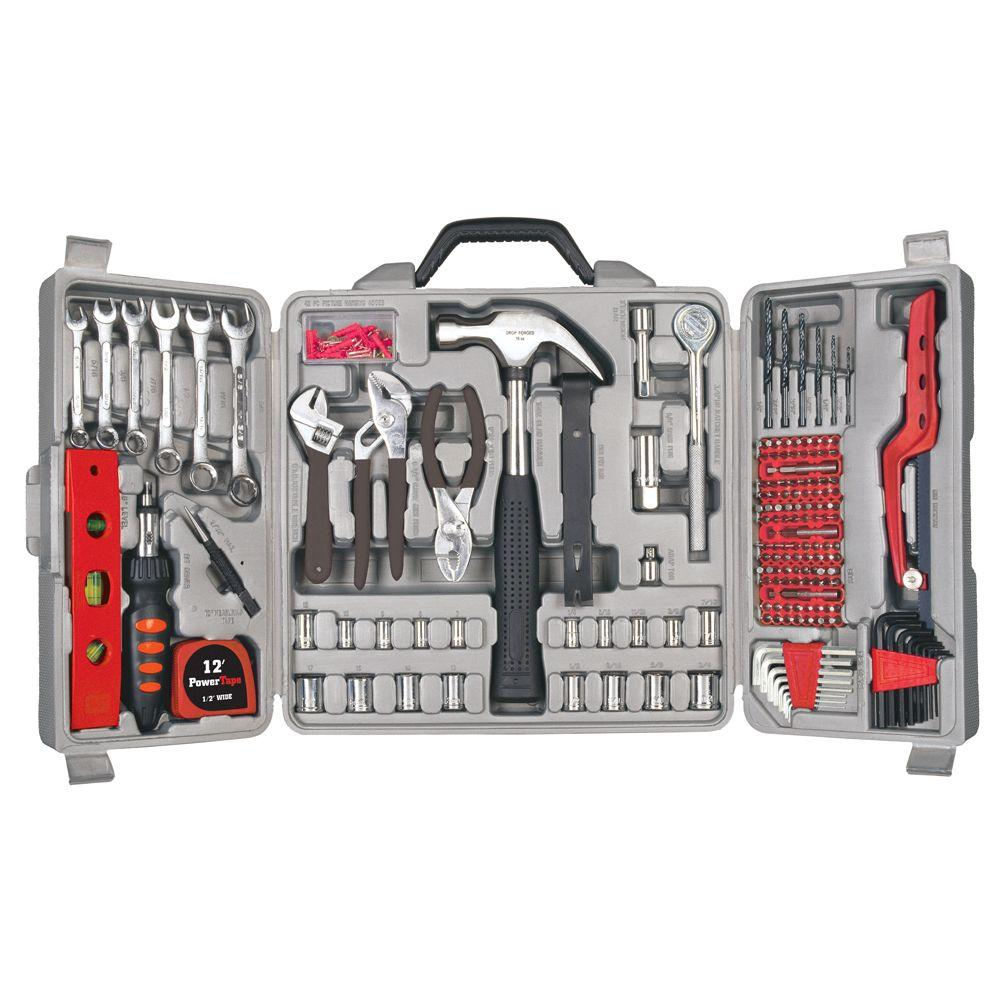 Great Neck Saw Home Tool Set (205-Piece)