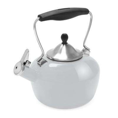 Catherine 7.2-Cups Enamel-on-Steel Lunar Rock Tea Kettle