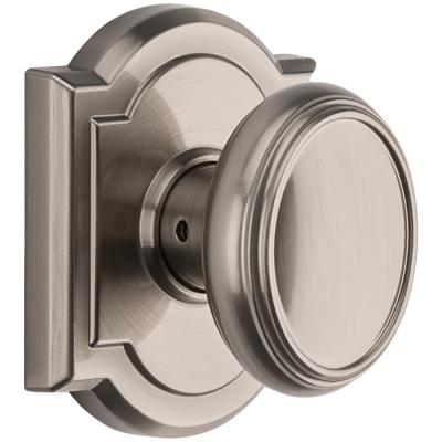 Prestige Carnaby Satin Nickel Hall/Closet Door Knob