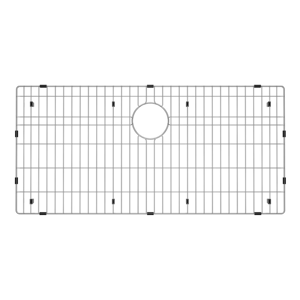 30.25 in. x 16.625 in. Stainless Steel Kitchen Sink Bottom Grid