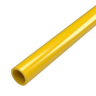 1/2 in. x 5 ft. Furniture Grade Sch. 40 PVC Pipe in Yellow