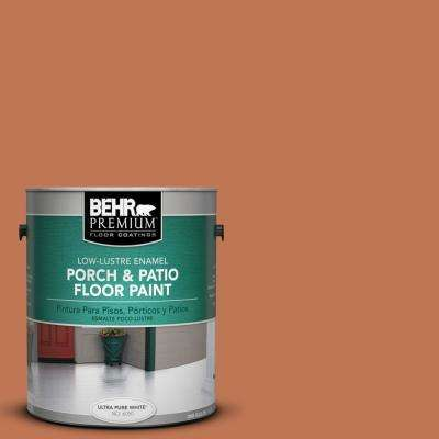 1 gal. #PPU3-01 Moroccan Sky Low-Lustre Porch and Patio Floor Paint