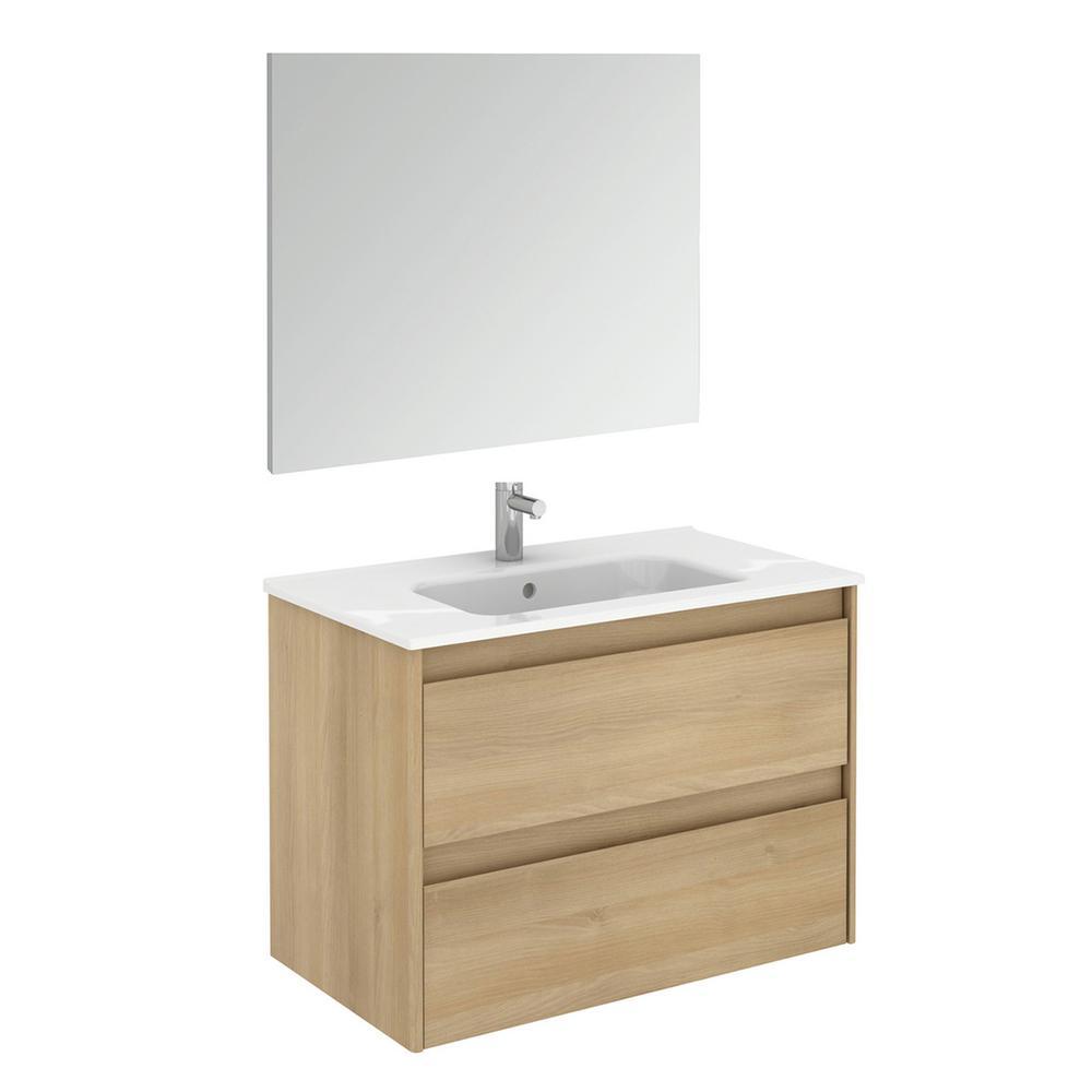 30 Inch Vanities Oak Bathroom Vanities Bath The Home Depot