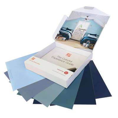 Blues Peel and Stick Paint Sample Kit (6-Count)