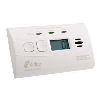 C3010D Worry-Free Carbon Monoxide Alarm with Digital Display and 10-Year Sealed Battery